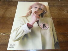 MARIANNE FAITHFULL - Mini poster couleurs 2 !!!!!!!!!!!!!!!