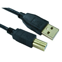 USB Printer Cable High Speed 2.0 A to B Lead Plug 1m 2m 3m 5m Gold Plated