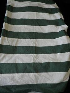 Ralph Lauren Twin Extra Long Fitted Sheet Wide Green Stripe