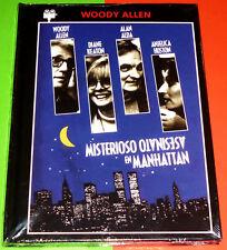 MISTERIOSO ASESINATO EN MANHATTAN / MANHATTAN MURDER MYSTERY - DVD R2 DVD+LIBRO