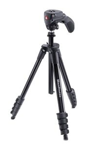 MANFROTTO - Compact Action - Treppiede Nero Con Testa Joystick