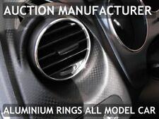 Seat Altea XL 04-15 Anelli in alluminio lucido alle aperture di ventilazione x2