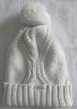 online store 19277 ea430 Nike Cable Knit Beanie Women s One Size Hat Winter White