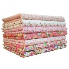 BT_ NE_ Flower Print Precut Cotton Fabric Quilt Squares Quilting Sewing Patchwor