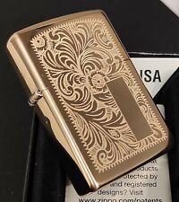 Zippo VENETIAN (Floral Design/Dekor) Messing/Brass, 1029007