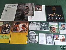 PATRICK BERGIN-  FILM STAR - CLIPPINGS /CUTTINGS PACK