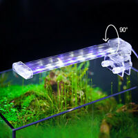 LED Aquarium Aquatic Plant Light Clip On Fish Tank Weed Coral Reef Clamp Lamp N