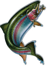 New listing Rainbow Trout Car Truck Magnet Rivers Edge Art New Fishing Wildlife Decal Angler