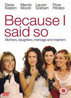 Because I Said So DVD (2007) Diane Keaton