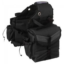 Tough-1 Multi-Pocket Saddle Bag  BLACK HORSE TACK
