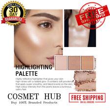 SACE LADY 4 Colors Highlighter Palette Makeup Face Contour Powder Bronzer