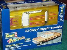 "REVELL1963 CHEVY IMPALA SS ""PRO FINISH"" LOWRIDER MODEL KIT 1/25 SKILL LEVEL 2"