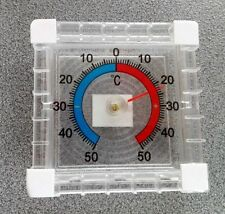 1 Fensterthermometer Thermometer Kühlschrankthermometer Gefrierthermometer Frost