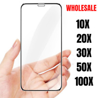Wholesale Screen Protector For iPhone 12 11 X XR XS Full Coverage Tempered Glass