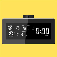 1080p HD Hidden Security Spy Camera and Weather Radio Clock with WiFi streaming