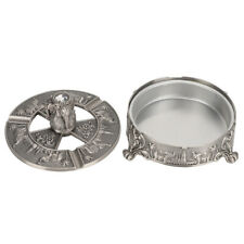 Safety Tray Wear‑resistant Windproof Ashtray Gift for Home Office Smoker