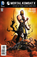 Mortal Kombat X #11 DC Comics COVER A 1ST PRINT BLOOD ISLAND