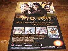 LE SEIGNEUR DES ANNEAUX - PUBLICIE EA GAMES !!!!!!!!!!!