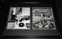 Roger Maris Framed 18x24 Photo Set Smoking NY Yankees