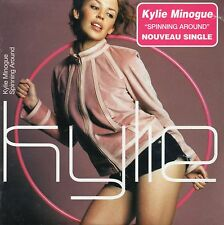 ☆ CD SINGLE Kylie MINOGUE Spinning around 2-track CARD SLEEVE NEW SEALED ☆