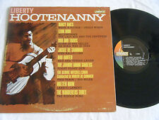 LIBERTY HOOTENANNY LP 1963 Liberty L-5506 Walter Raim,Leon Bibb,Nancy Ames NM
