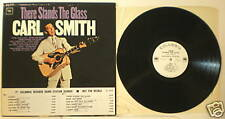 PROMO LP Carl Smith There Stands The Glass Columbia LP