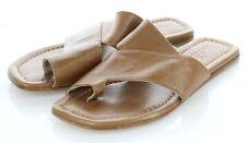 54-44 NEW $298 Women's Sz 36.5 M AGL Asymmetrical Toe Loop Slide Sandal