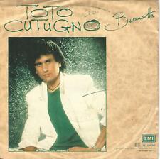 """TOTO CUTUGNO """" BUONANOTTE / ANNA """" 7""""  ITALY PRESS"""