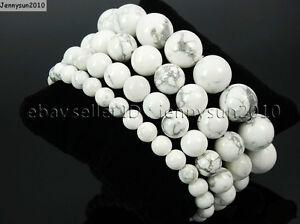 Handmade 10mm Natural Gemstone Round Beads Stretchy Bracelet Reiki Chakra Lucky