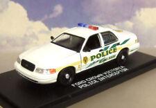 GREENLIGHT 1/43 2003 FORD CROWN VICTORIA POLICE INTERCEPTOR MIAMI DADE CSI MIAMI