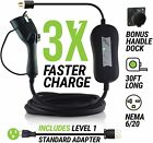 EV Gear Level 2 Charger w/30 ft. Cable, Mount & Level 1 Adapt Cable, SHIPS FREE!