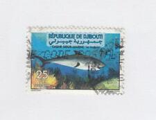 DJIBOUTI (MK5568) # 784  VF-USED 1998 MARINE LIFE-SHARK HORIZONTAL CV $135