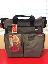 Skip Hop Duo Signature Diaper Bag [Heather Grey]
