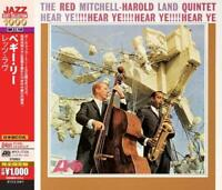 The Red Mitchell-Harold Land Quintet - Hear Ye! (NEW CD)