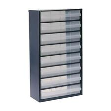1 x Cassetto Raaco 8 armadietto, in acciaio smaltato, 8 cassetti