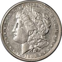 1893-S Morgan Silver Dollar PCGS XF45 Nice Eye Appeal Nice Luster Nice Strike