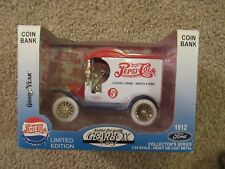 Gear box toy coin bank scaled 1912 Ford Pepsi Cola Delivery Truck
