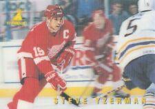 1996-97 McDonald's Pinnacle Hockey #17 Steve Yzerman Detroit Red Wings