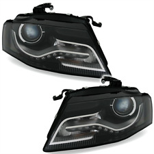 Headlight set for AUDI A4 8K B8 07-11 XENON D3S LED daytime running light R87