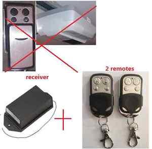 garage door upgrade kit receiver for Longway LW-IPR 800N rolling code 2 remotes