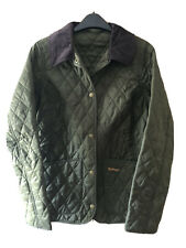 Womens Barbour Quilted Jacket - Olive Size UK8