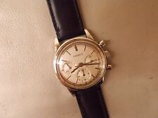 VINTAGE TISSOT CHRONOGRAPH, 1960s 3 REGISTER STAINLESS STEEL CASE ORIGINAL DIAL