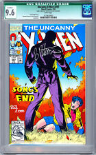 UNCANNY X-MEN #297 CGC 9.6 SIGNED & NUMBERED BY ARTIST BRANDON PETERSON COA 1993