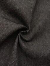 Black Cotton/Poly Stretch Denim