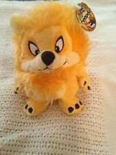 """Neopets Orange Yurble Plushy 7"""". New with tag, no code. 2004. (R)"""