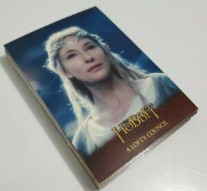 Hobbit An Unexpected Journey Trading cards lot of 23 cards