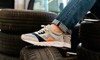 Karhu Aria Suede Rally Grey UK 7 US 8 Finland Fusion 2.0 OG Synchron Land Gray