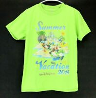 Walt Disney World Disneyland Unisex Men Women S Summer Vacation 2014 Tea Green