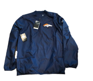NWT New Denver Broncos Nike Dri-Fit OnField Repel Sideline Small Jacket