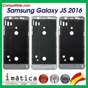 Châssis Cadre Pour Samsung Galaxy J5 2016 J510 Cas Arrière Boutons Intermédiaire